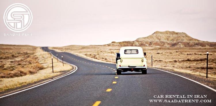 اجاره خودرو برای سفر در مقاصد گردشگری ایران