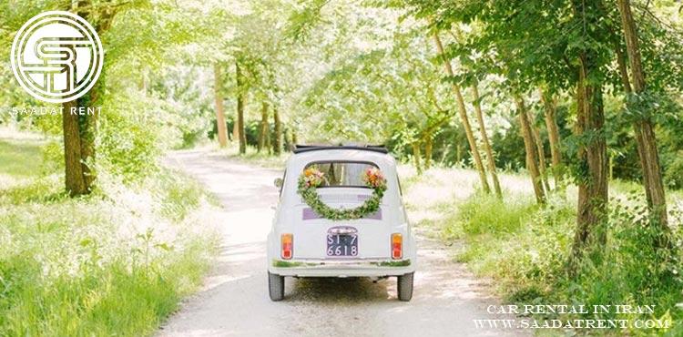 اجاره ماشین عروس با ایده های خاص و جذاب