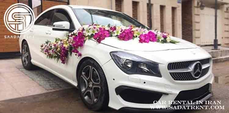 خودروهای مناسب برای اجاره ماشین عروس در تهران