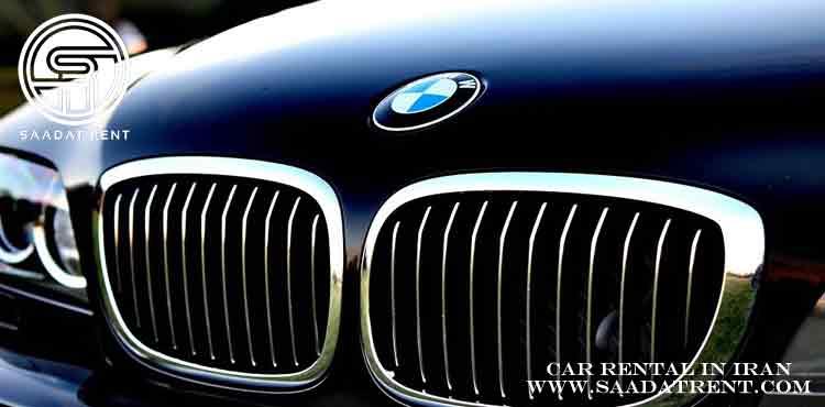 بهترین مدل های بی ام و برای اجاره خودرو