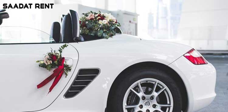 همهی آنچه که باید درباره اجاره ماشین عروس بدانید