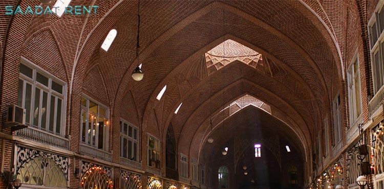 بازار تبریز بزرگترین بازار سرپوشیده در جهان