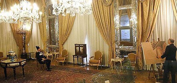 «تالار آینه»؛ گره خورده با نام کمال الملک