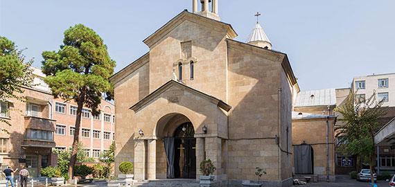 کلیسای مریم مقدس ، شورای خلیفه گری ارامنه تهران